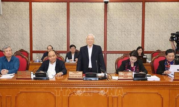 Нгуен Фу Чонг: партийное строительство – это строительство аппарата, развитие человека и обновление метода работы