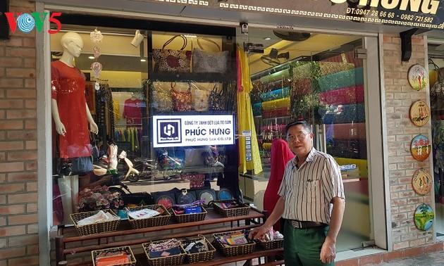 Хранитель шёлкового ткачества деревни Ванфук