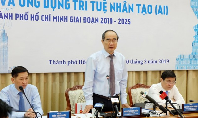 Workshop discusses AI research, application in Ho Chi Minh City