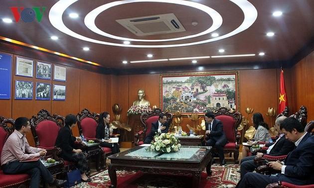 Tăng cường hợp tác trong lĩnh vực báo chí giữa Việt Nam và Mông Cổ
