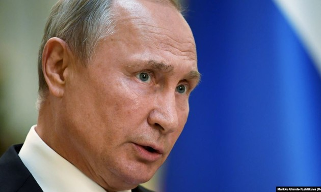 Russia will not take part in arm race: Putin