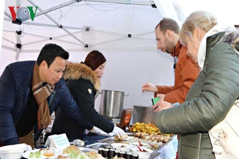 Lễ hội ẩm thực đường phố Czech tôn vinh ẩm thực Việt
