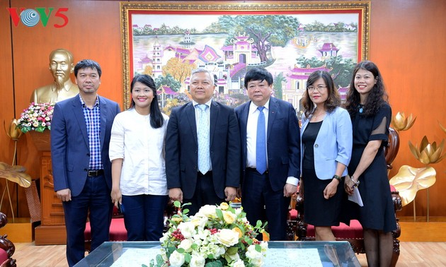 Indonesian Embassy in Vietnam supports VOV's opening of bureau in Indonesia