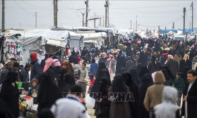 Efforts to reconstruct Syria