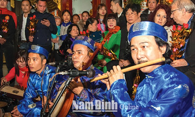 Ritual singing being preserved in Nam Dinh