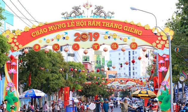 Binh Duong province's First Full Moon Festival