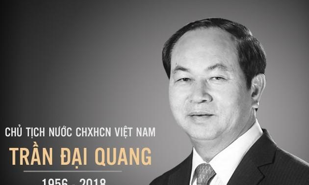 Cuba y Tailandia rinden homenaje al fallecido presidente vietnamita Tran Dai Quang