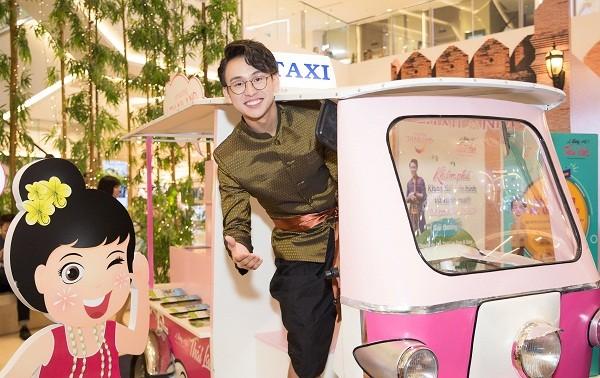 พบปะกับพิธีกร กวางบ๋าว  ทูตการท่องเที่ยวของไทยปี 2019 ณ  เวียดนาม
