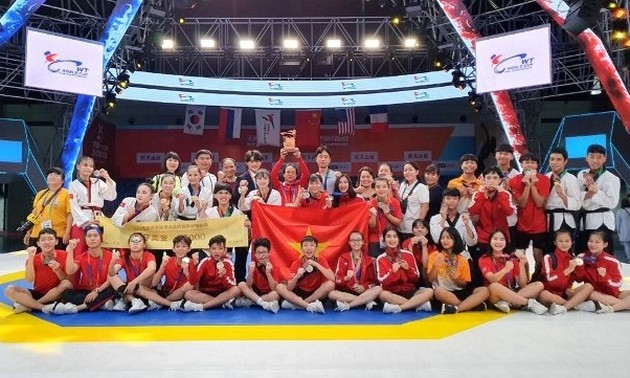 Vietnam wins four gold medals at Taekwondo World Championships
