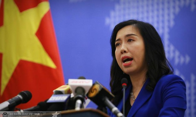 Vietnam resolved to fight violations of its sea areas: spokesperson