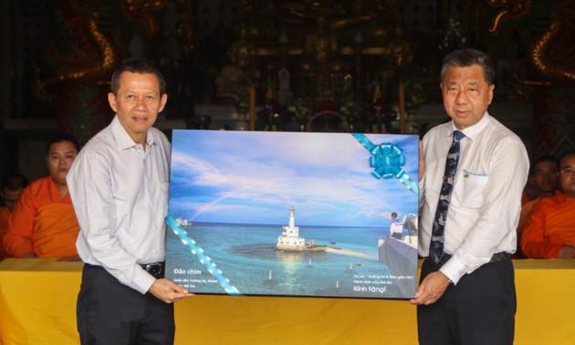 จัดแสดงภาพถ่ายเกี่ยวกับหมู่เกาะเจื่องซาหรือสเปรตลีของเวียดนามที่ประเทศไทย