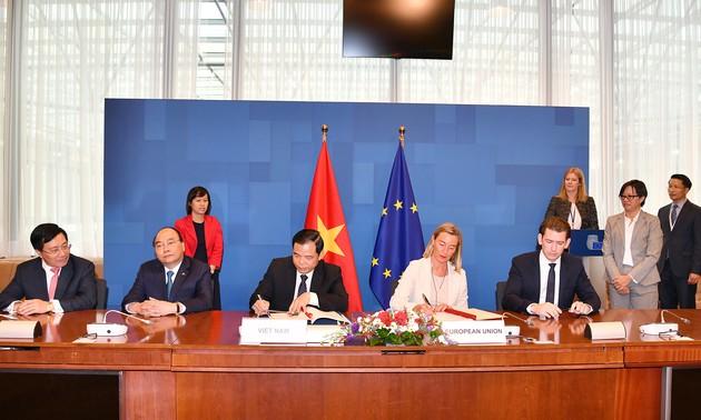 越南和欧盟签署VPA/LEGT协定