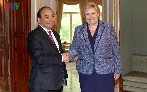 Gemeinsame Erklärung zwischen Vietnam und Norwegen
