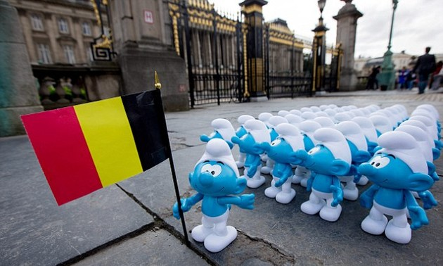 The Smurfs – world's famous Belgian comic franchise