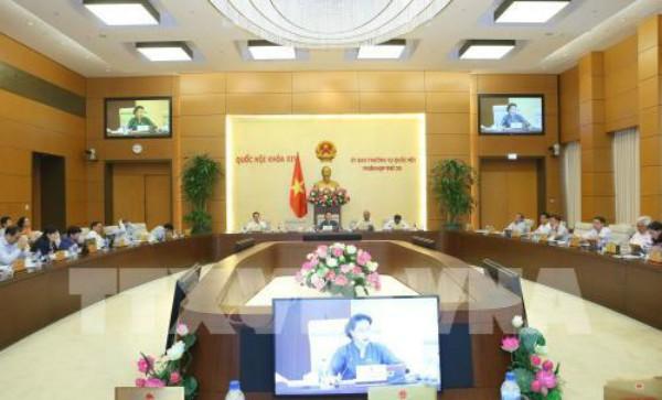 국회 상무위원회 35차 회의 : 남딘(Nam Định) 성 2개 읍,  껀 뚬 (Kon Tum) 성 1개 면 신설에 동의