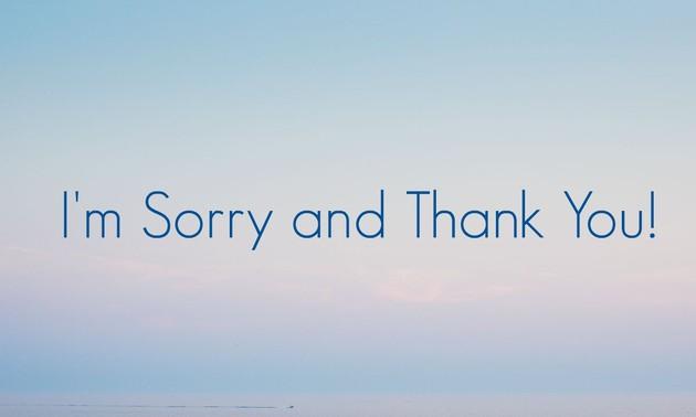 뚜언의 음악편지 - 미안해 고마워