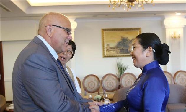 Lãnh đạo Thành phố Hồ Chí Minh tiếp Chủ tịch Ủy ban Cách mạng Cuba