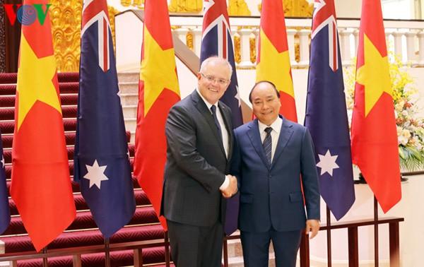 Tuyên bố chung Việt Nam - Australia