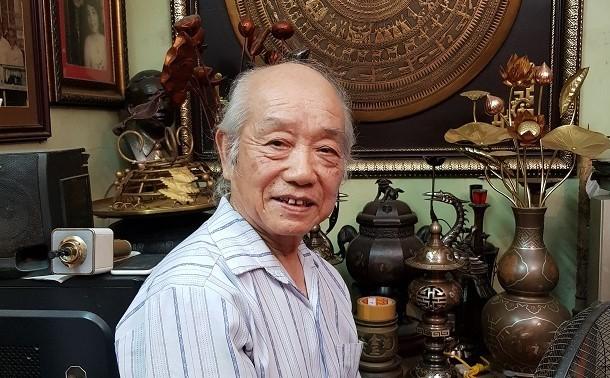 Nghệ nhân Nhân dân Nguyễn Ngọc Trọng - Bàn tay vàng nghề khảm tam khí