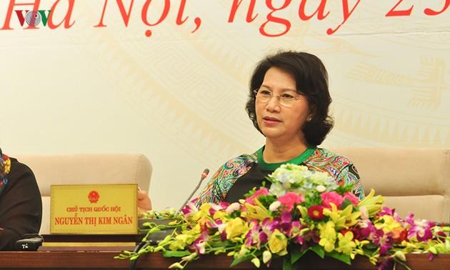 รัฐสภาเวียดนามให้คำมั่นที่จะตรวจสอบปัญหาหนี้สาธารณะอย่างใกล้ชิด