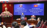 Chủ tịch Quốc hội CHDCND Lào đánh giá cao hợp tác giáo dục với Việt Nam