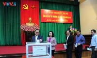 Thành ủy Hà Nội ủng hộ Quỹ Vì Trường Sa thân yêu năm 2018