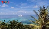นามเอี๊ยด - เกาะมะพร้าวในหมู่เกาะเจื่องซา
