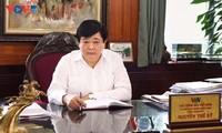越南之声广播电台台长阮世纪的新年贺词