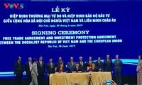 Vietnam-UE: Signature des accords de libre échange et de protection des investissements