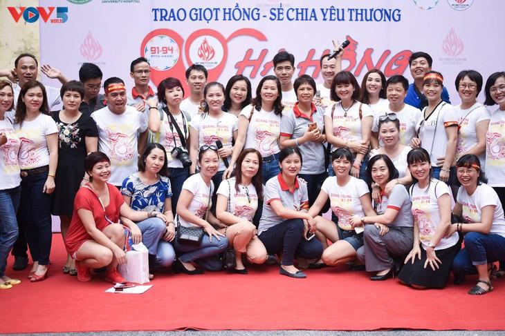 Người Hà Nội sinh năm 1976 rủ nhau đi hiến máu - ảnh 5