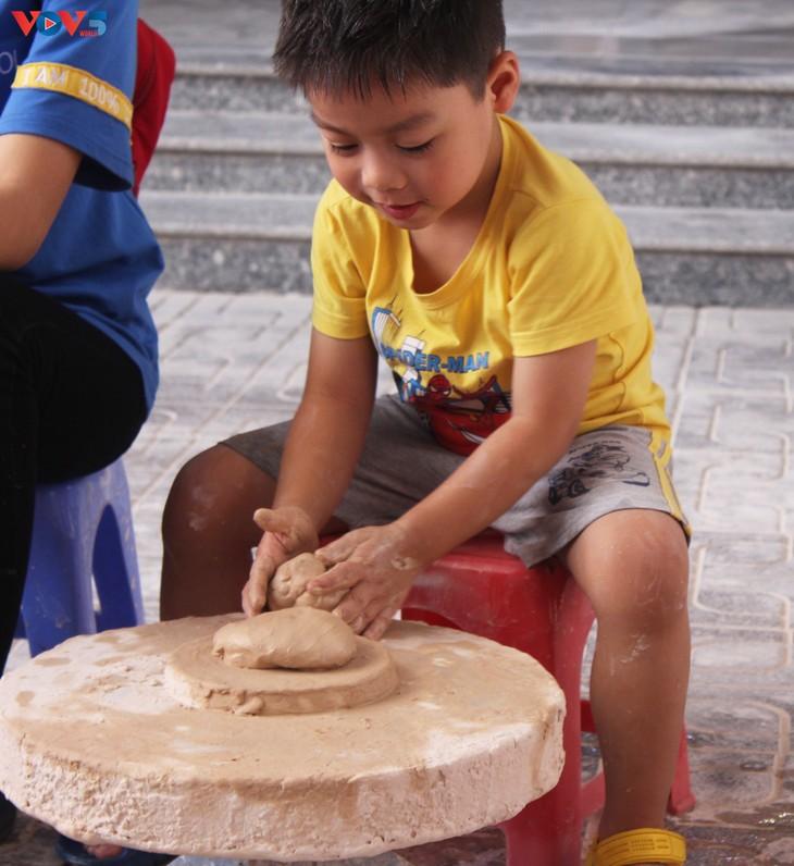 J'ai testé pour vous: faire ma propre poterie à Bat Tràng - ảnh 3