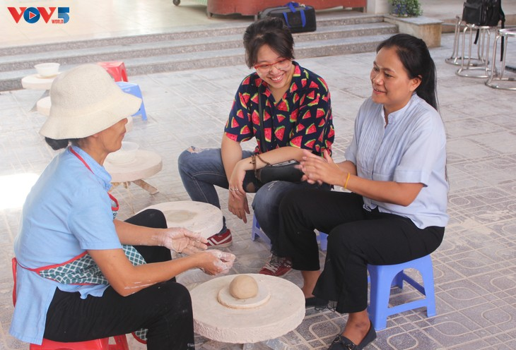 J'ai testé pour vous: faire ma propre poterie à Bat Tràng - ảnh 7