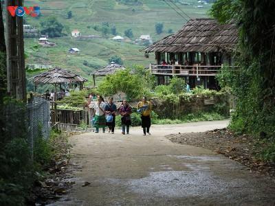 村にある都市・ターバンザイ集落 - ảnh 3
