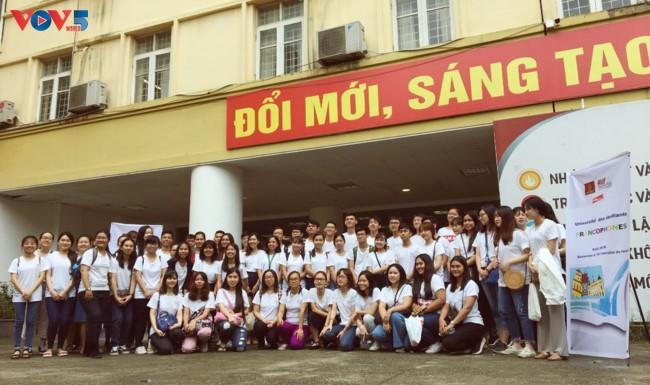 Francophonie : coup d'envoi de l'Université d'été 2018 par l'AUF et HANU - ảnh 1