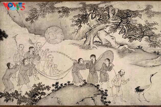 Selar Raja Buddhis Tran Nhan Tong di gunung suci Yen Tu - ảnh 2
