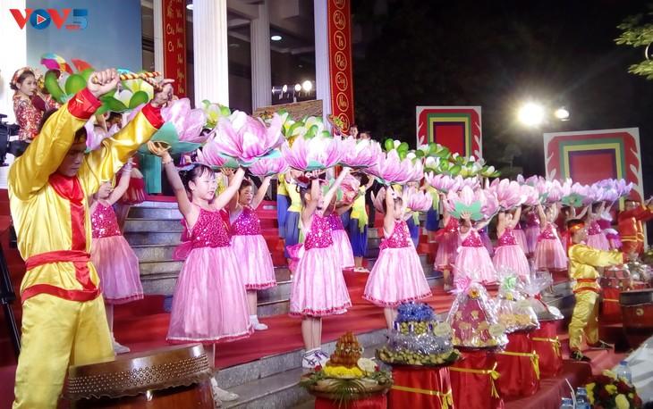 Lễ dâng hương tưởng niệm các Vua Hùng tại các địa phương trong cả nước - ảnh 14