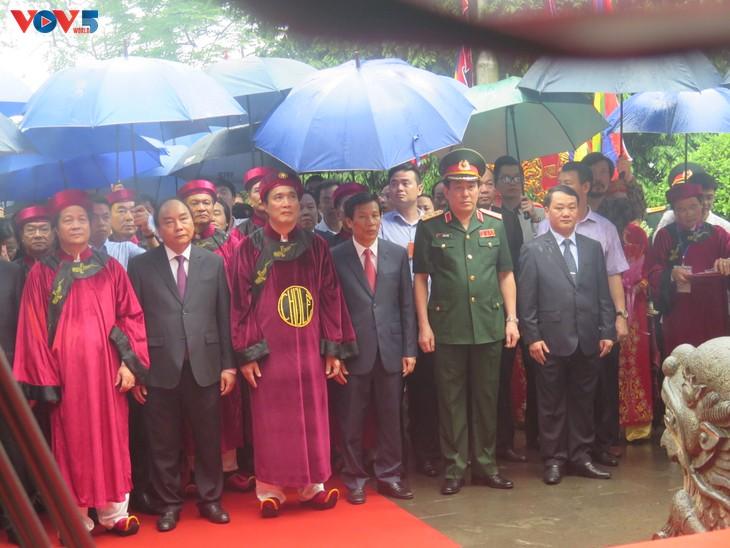 Lễ dâng hương tưởng niệm các Vua Hùng tại các địa phương trong cả nước - ảnh 5