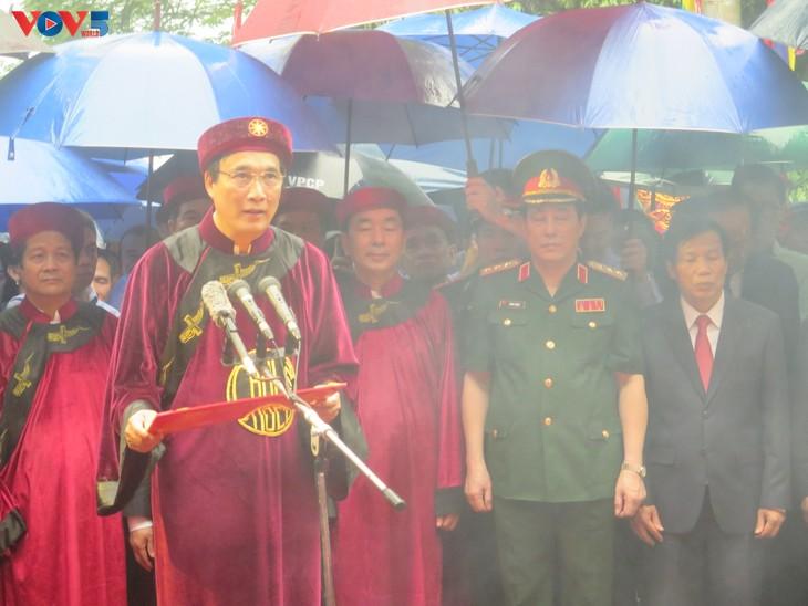 Lễ dâng hương tưởng niệm các Vua Hùng tại các địa phương trong cả nước - ảnh 4