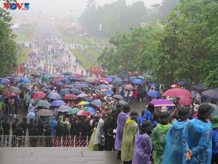 Lễ dâng hương tưởng niệm các Vua Hùng tại các địa phương trong cả nước - ảnh 6