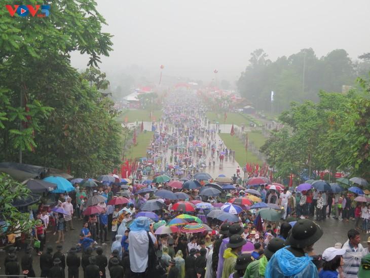 Lễ dâng hương tưởng niệm các Vua Hùng tại các địa phương trong cả nước - ảnh 7