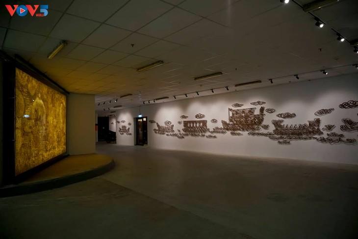 Không gian nghệ thuật đương đại độc đáo tại nhà Quốc hội - ảnh 1