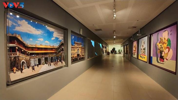Không gian nghệ thuật đương đại độc đáo tại nhà Quốc hội - ảnh 2