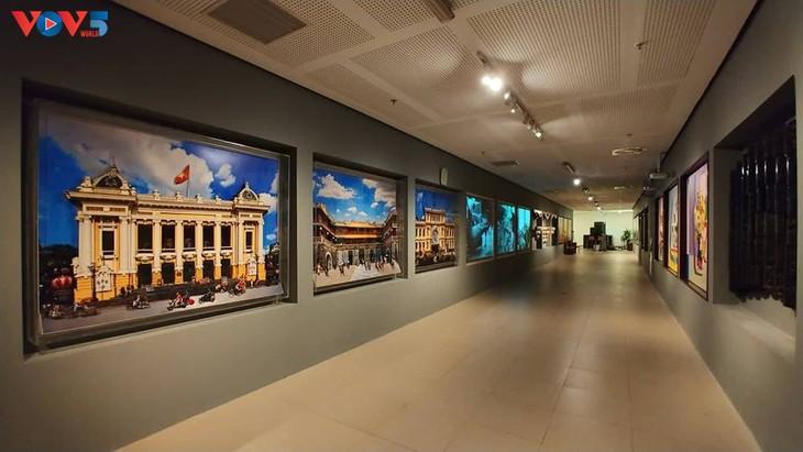 Không gian nghệ thuật đương đại độc đáo tại nhà Quốc hội - ảnh 4