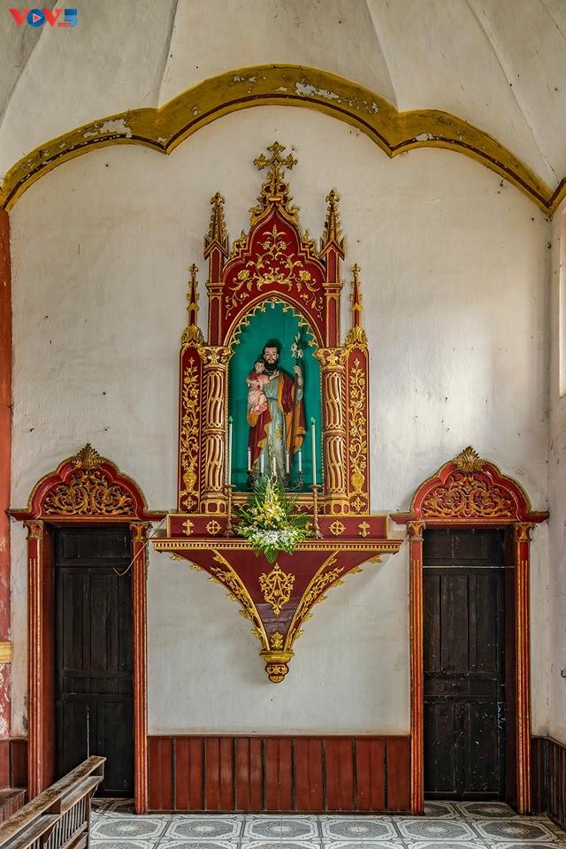 Vẻ đẹp độc đáo của nhà thờ Bùi Chu - ảnh 10