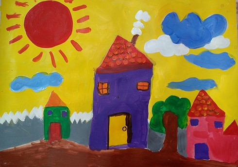 special painting exhibition entitled children paint nh 1 - Children Painting Pictures