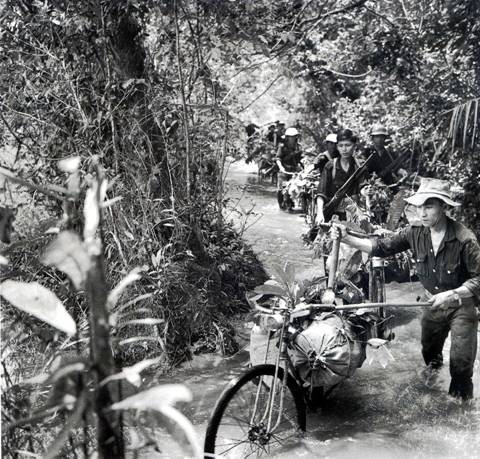 Ho Chi Minh trail - a supply line to the battlefield