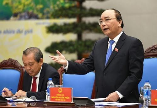 Le premier ministre va dialoguer avec les chefs d entreprise for Chambre de commerce vietnam