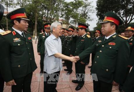 チョン書記長、第4軍区の司令部...