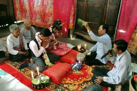 Die traditionelle Hochzeit der Khmer