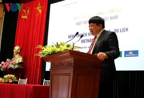 Vietnam Journey TV channel cooperates with Vietnam Tourism Association - ảnh 1